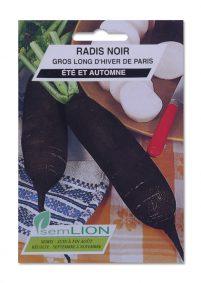 RADIS NOIR GROS LONG D'HIVER DE PARIS